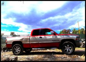 My DODGE RAM by jamyankovich
