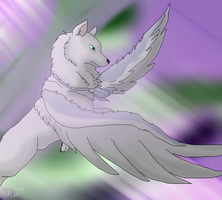Queen of the sky by Whitelupine