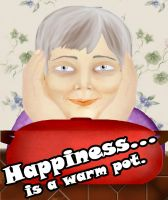 Happiness is a warm pot by Shakahnna
