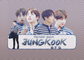 [06062016] SHARE RENDER PACK JUNGKOOK by CSELteam