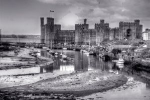 Welsh Castle by safe-t