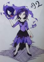 Gastly by Raven-ftw