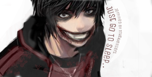 Older Version - Jeff The Killer (Painting~) by TrueAvengers