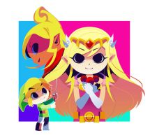 Wind Waker Poster by hollyfig