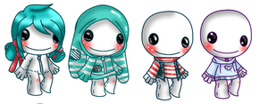 4 costume ideas for LBP by saltycuccumbers