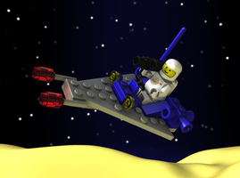 LEGO 6803 Space Patrol by zpaolo