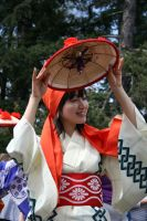 Japanese Flower Dancer by wolfphotography