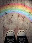 chucks and a rainbow by LenaCramer
