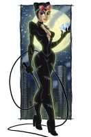 Catwoman by StevenCrowe