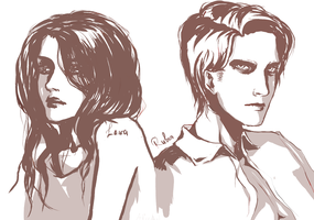 Laura and Ruben Victoriano by AliceLiddell1000