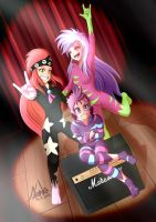 Cutie Mark Crusaders rocks ! by Valinhya