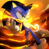 One Hour Sonic - Sonic and Flame of Judgment by Baitong9194