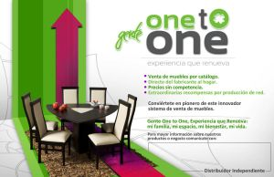 ::: One to one flyer ::: by monographo