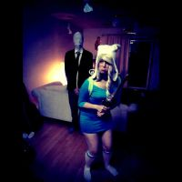 Adventure time FIonn and Slender by MrsBehrudy