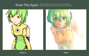 Draw this again contest:  Fl chan by arskuma