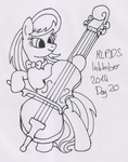 MLPDS-InkTober #20 by Uber--Dragon