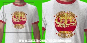 T shirt: Lucha Libre Mexicana by Vilchis