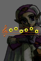 Zelda's Lullaby iPhone bg by gameover89