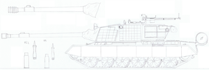 T-60 MBT by PanzerschreckLeopard
