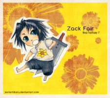 zack fair ppr child by JesterHikaru