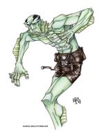 Abe Sapien by Sweatybuffalo