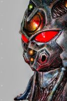 Guyver-I head by AngeloFalconio
