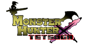 Monster hunter tetsuga logo by vampire-lover-nagi