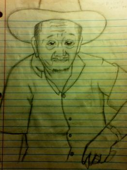 Sketch of My Grandpa by quintanillac