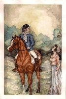 Pride and Prejudice Coloured by PaperSpiders