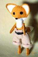 Phineas the Fox by quirkandbramble