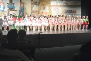The Dance Company Christmas Show, The Company Bow by Miss-Tbones