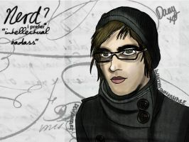.Mikey is NOT a nerd :D by IWantMyOwnVampire