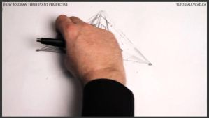 Learn how to draw three point perspective 005 by drawingcourse