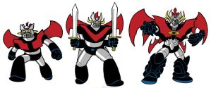The Mazinger Family by JoelRCarroll