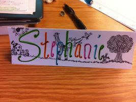 Name Tag by QueenoftheLemurs