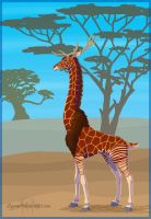 Lost Giraffid by Stygma