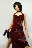 RE4 - Ada Wong 2b by Hyokenseisou-Cosplay