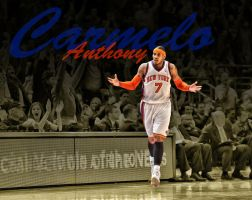 Carmelo Anthony by RGray525