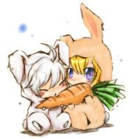 Carrot Babies by iHeartBloodDupre