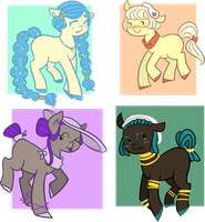 Binary Points Batch #1 CLOSED by FavfiAdopts