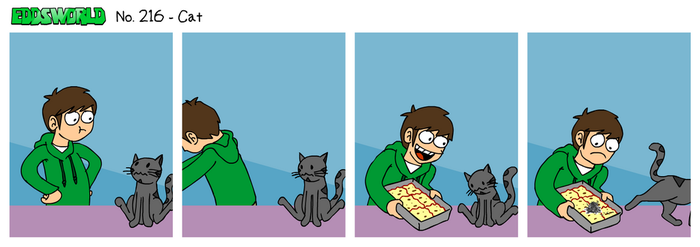 EWCOMIC No. 216 - Cat by eddsworld