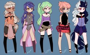 Adopts2 (update )  - closed  - thx ppl by YumiiArts