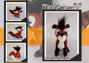 MINI Dargan - Plush by FurryFursuitMaker