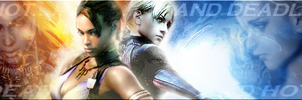 Jill and Sheva Signature by James-T-Havoc