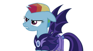 Rainbow Dash. Lunar. Alternative reality. 5 season by dastachov
