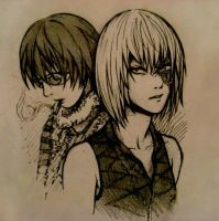 Mello and Matt by Annonyma