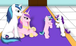 The Royal Family of the Crystal Empire by SilverRose-27