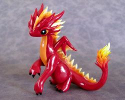 Fire Dragon by DragonsAndBeasties