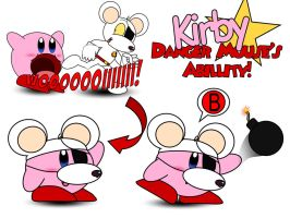 Kirby Abilities Danger Mouse by AshleyWolf259