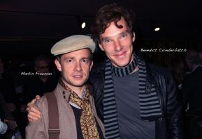 Benedict and Martin Wallpaper by PeaceRevolution22